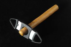 Cuban Brown Havan Cigar Stock Photography
