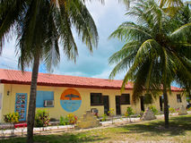 Cuban Building in Cayo Largo, Cuba Stock Photography