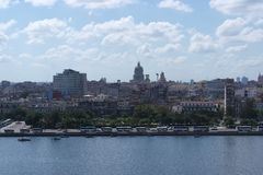 Cuban capitol at Havanna Royalty Free Stock Photography