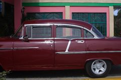 Cuban Car Royalty Free Stock Photography