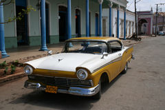 Cuban car Royalty Free Stock Images