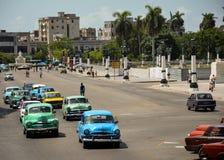 Cuban cars Royalty Free Stock Photo