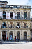 Cuban children playing on the street Royalty Free Stock Photos