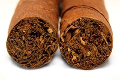 Cuban Cigar Royalty Free Stock Photo