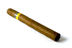 Cuban cigar Royalty Free Stock Photography