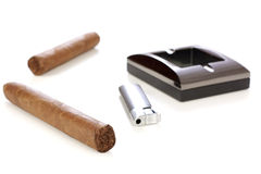Cuban cigar Royalty Free Stock Photos