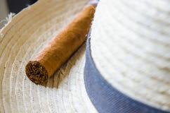 Cuban cigar 2 stock photos