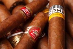 Cuban cigars Royalty Free Stock Photography