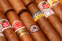 Cuban cigars Royalty Free Stock Photo