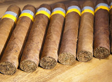The Cuban cigars, hand made Stock Photography