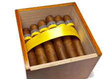The Cuban cigars, hand made Stock Images