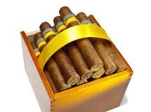 The Cuban cigars, hand made Stock Photo