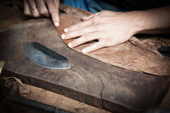 Cuban cigars in the making Stock Photography