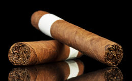 The cuban cigars Stock Images