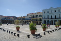 Cuban city architecture stock photography