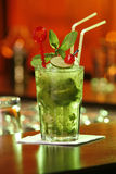 Cuban cocktail Mojito Stock Image