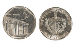 Cuban coin Stock Photos