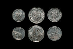 Cuban Coins Stock Photos