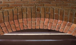 Cuban colonial architecture: brick arch-Santiago de Cuba. Cuban colonial architecture: brick arch in Emilio Bacardi house. Restoration of old buildings provide stock photos