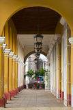 Cuban colonial architecture Stock Images