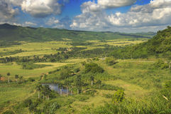 Cuban countryside landscape Stock Photography