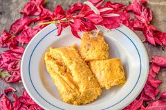Cuban cuisine: Tamal, Tamales or Tamale stock photography