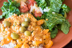 Cuban Cuisine: Typical Dish Royalty Free Stock Image