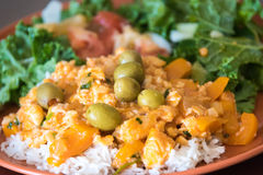 Cuban Cuisine: Typical Dish Royalty Free Stock Images