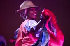 Cuban Dancer Royalty Free Stock Photos