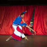 Cuban dancers Royalty Free Stock Photos