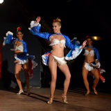 Cuban dancers Royalty Free Stock Photography