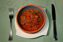 Cuban dish Ropa Vieja Stock Image