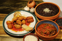 Cuban dishes Royalty Free Stock Photos