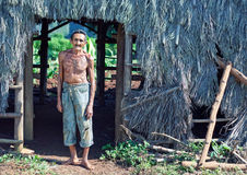 Cuban farmer royalty free stock images