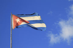 Cuban Flag Royalty Free Stock Images