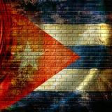 Cuban flag Royalty Free Stock Image