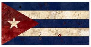 Cuban Flag Grunge Cuba Metal Old Rustic Vingage. Cuban Flag Rustic Vintage Grunge Metal Old Embossed Bullet Hole Scratched Havana Cuba Travel stock photography