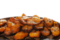 Cuban food - fried banana Royalty Free Stock Image