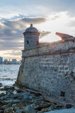 Cuban fortess Stock Photography