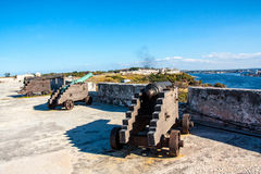 Cuban fortess Royalty Free Stock Image