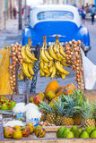 A Cuban fruits stand Royalty Free Stock Image