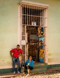 Cuban Gift Shop royalty free stock photos