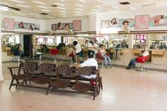 Cuban Hairdresser Stock Images