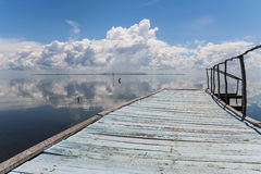 Cuban jetty Stock Photography