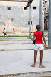 Cuban kids, Havana Royalty Free Stock Photo