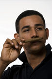 Cuban man with cigar Royalty Free Stock Photography