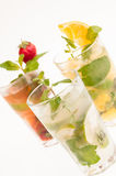 Cuban Mojito Cocktails Stock Photo