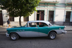 Cuban old cars Stock Images