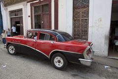 Old American car in Havana, Cuba  Stock Photos