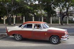 Old American car in Havana, Cuba  Stock Photo